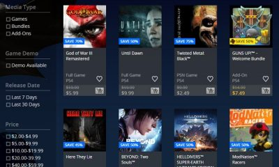 Only On PlayStation Sale in North America Offers 25-80% Discounts