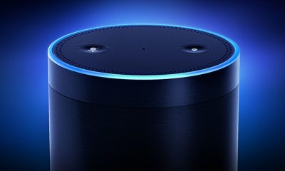 An echo with a screen