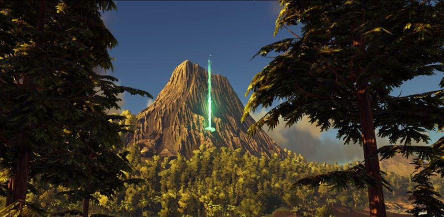 Ark survival evolved's volcano