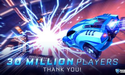 Rocket League Reaches a Total of 30 Million Players Globally