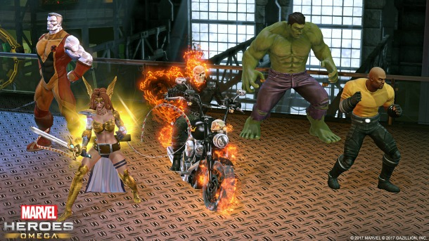 Marvel Heroes Omega Announced For Release on Xbox One This Spring