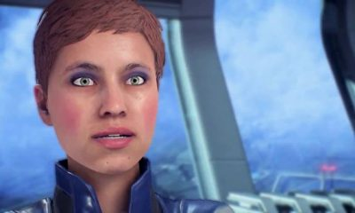 Mass Effect face animation
