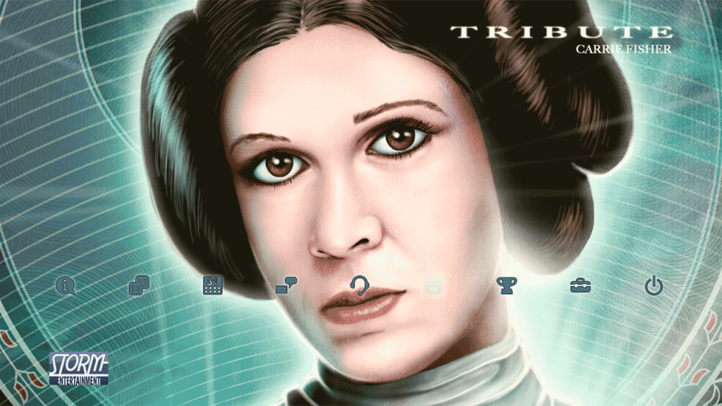 Latest PS4 Theme Pays Tribute to the Late Carrie Fisher