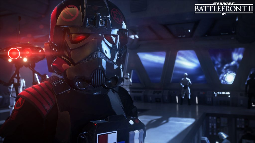 You get to be the bad guy in Battlefront 2's singleplayer campaign