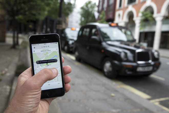 Uber tracked users