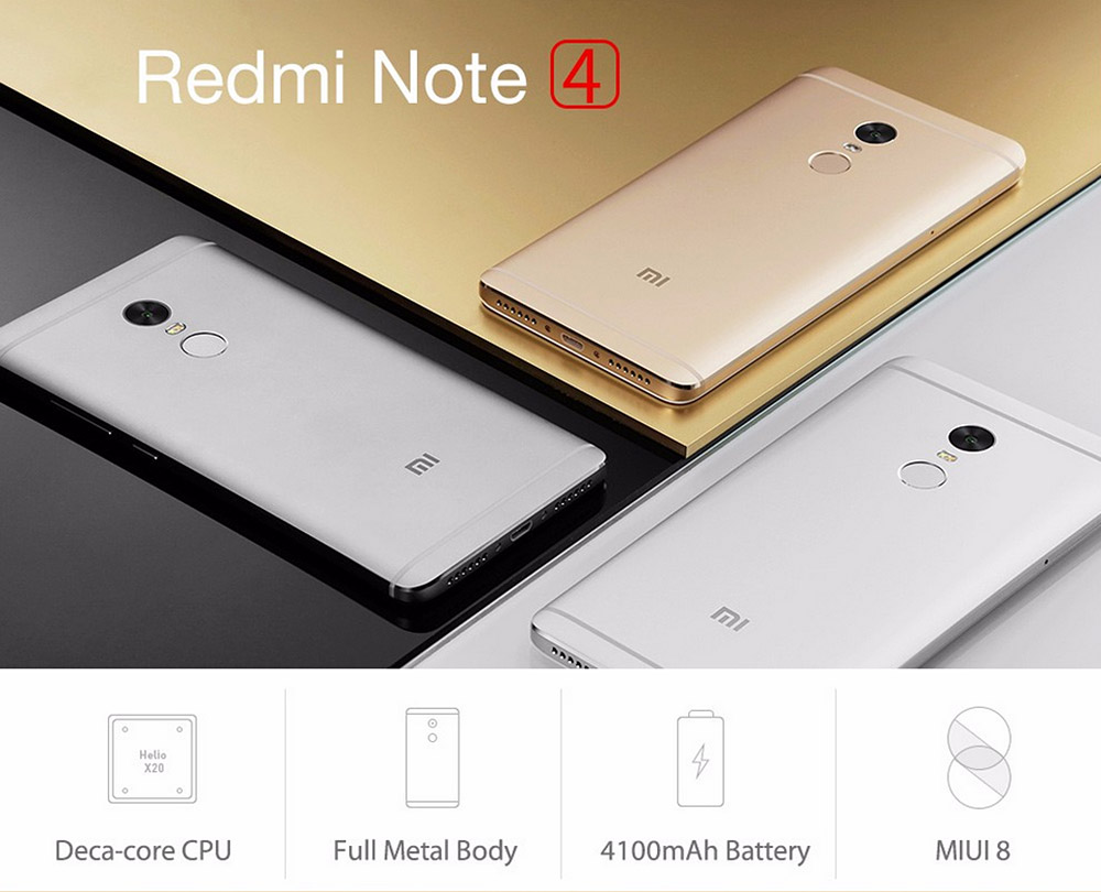 Xiaomi Set To Launch Redmi Note 4 And Redmi 4x In Mexico: Best Android Nougat 7.0