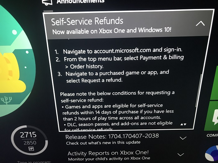 Xbox's Refund Policy is Amazing and Sony Should Feel Pressured ...