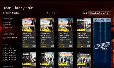 This Week's PlayStation Store Sales Deliver Mega Savings for Tom Clancy and PS Plus Users