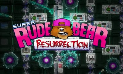Super Rude Bear Resurrection: The Twitch Platfomer That Gets Easier When You Die