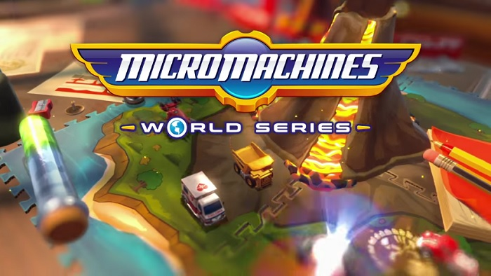 'Micro Machine World Series' first gameplay footage shown in trailer