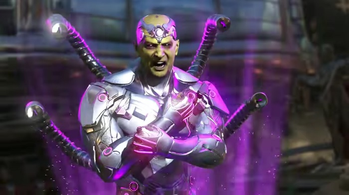 Brainiac Gets His Fight On in New Injustice 2 Gameplay Trailer