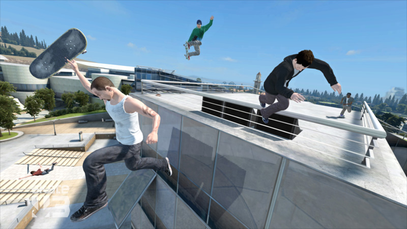 how to jump high in skate 3