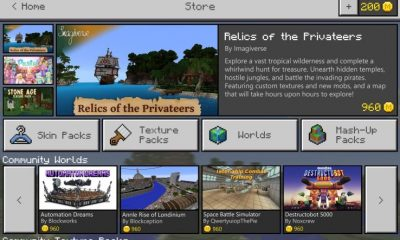 Minecraft Marketplace will be a new addition to the game.