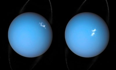 Hubble catches Auroras on Uranus