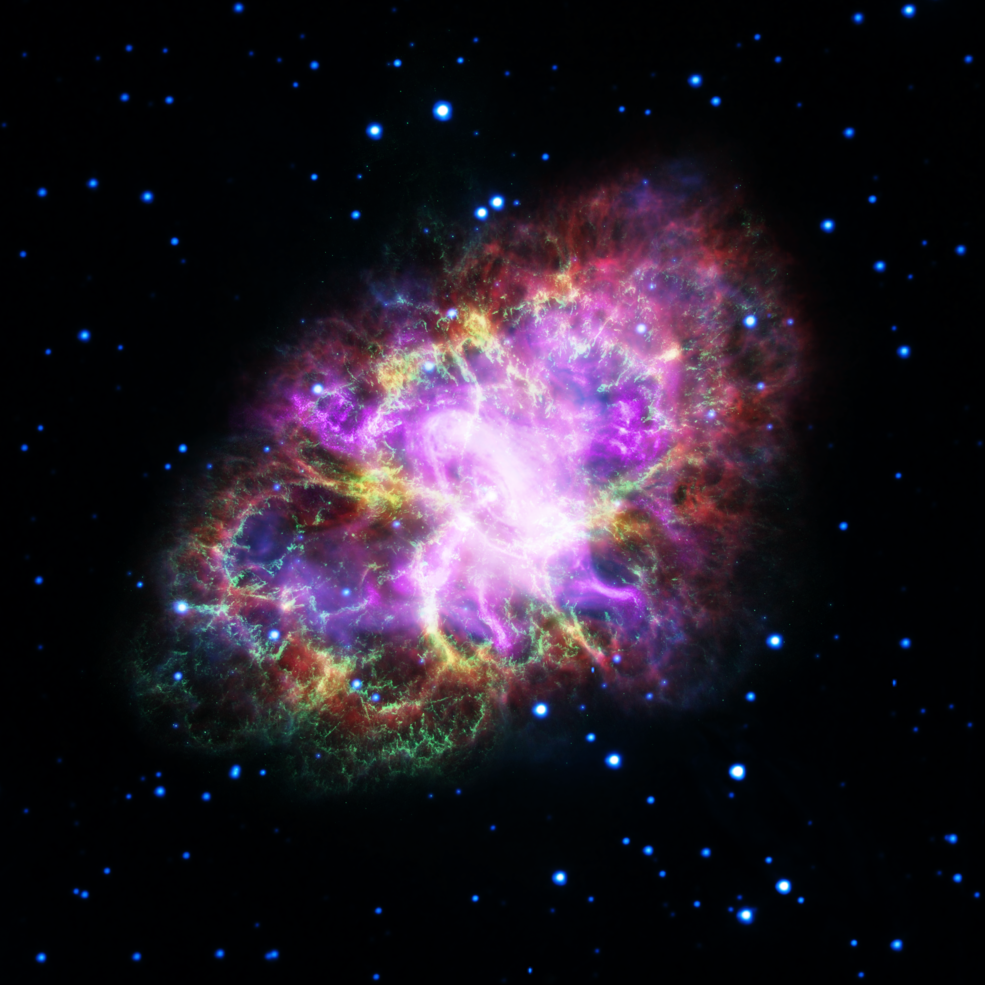 Picture of the crab nebula