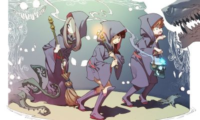 Little Witch Academia Flies Onto Netflix