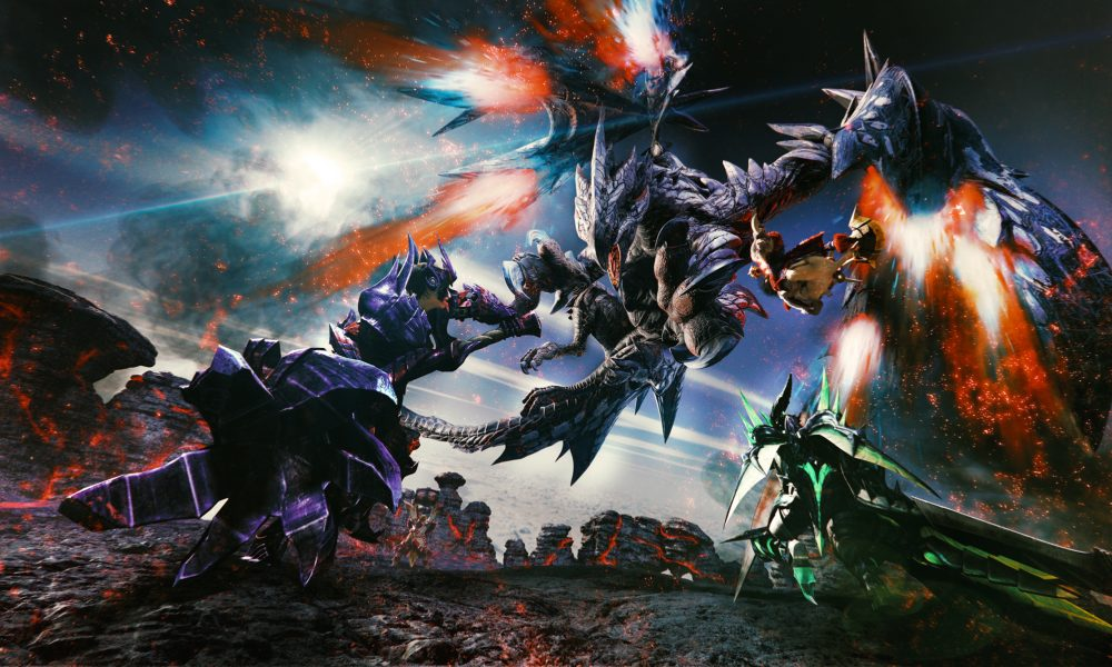 Capcom Bringing Monster Hunter to Nintendo Switch