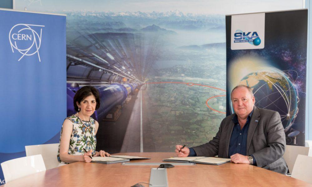 exascale SKA CERN agreement