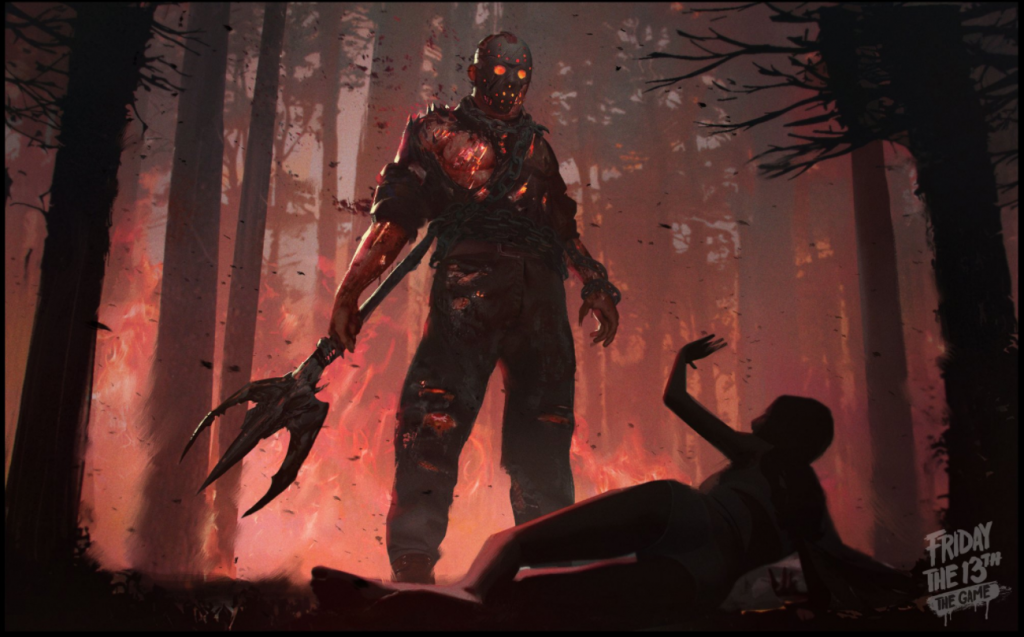 The limited exclusive Savini Jason skin for Kickstarter backers.