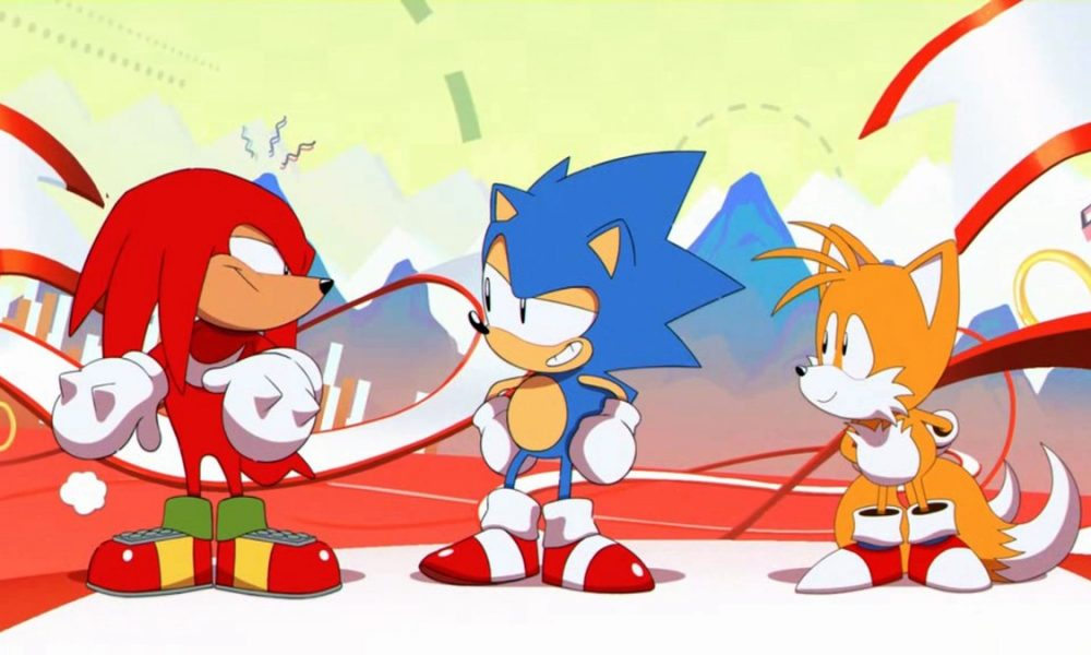 a fan has made the sonic mania intro run on the sega genesis geek