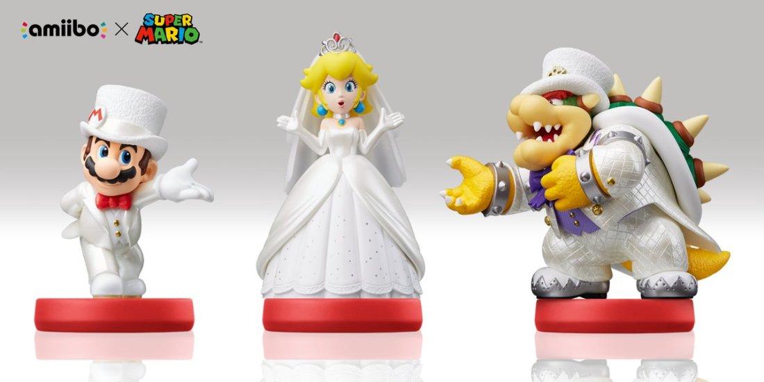 Mario Wedding Amiibos