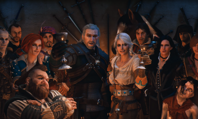 Witcher Anniversary Group Shot