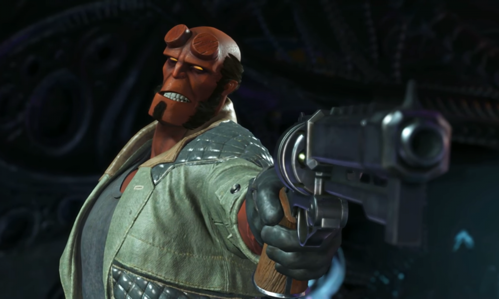 Injustice 2 summons Hellboy on November 14