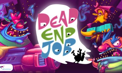 Dead End Job Title Screen