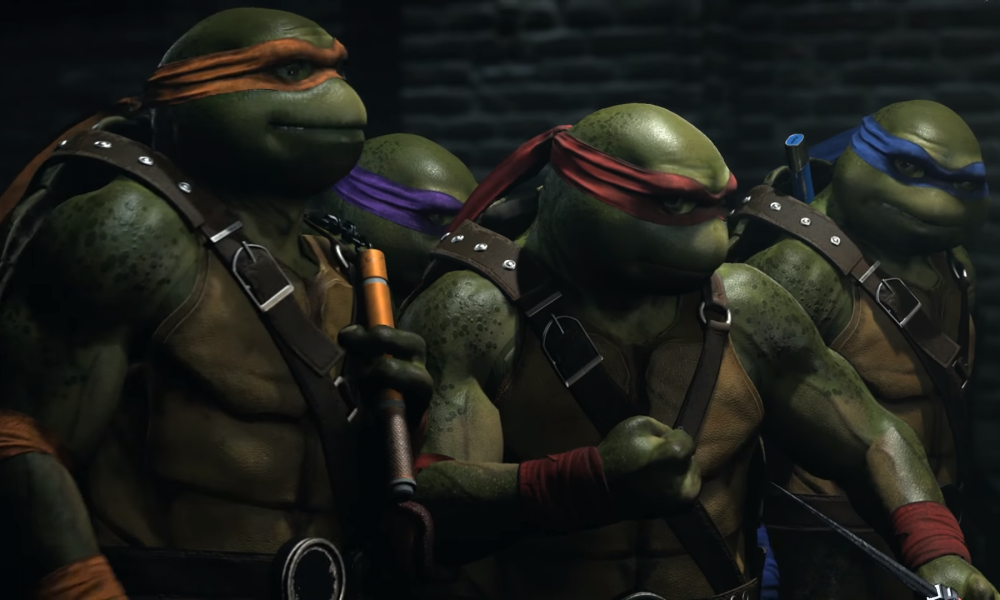 Teenage Mutant Ninja Turtles will appear as characters in Injustice 2