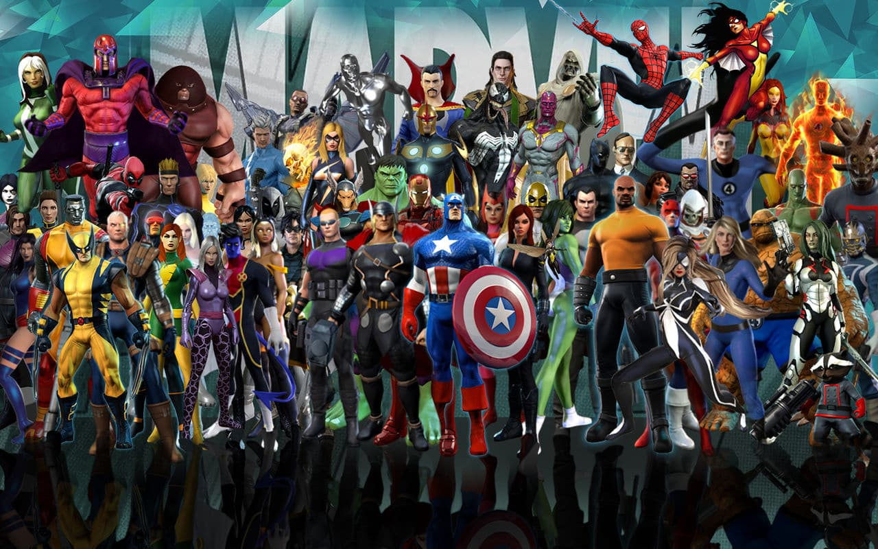 Marvel heroes omega shut down a month early geek reply - All marvel heroes wallpaper ...