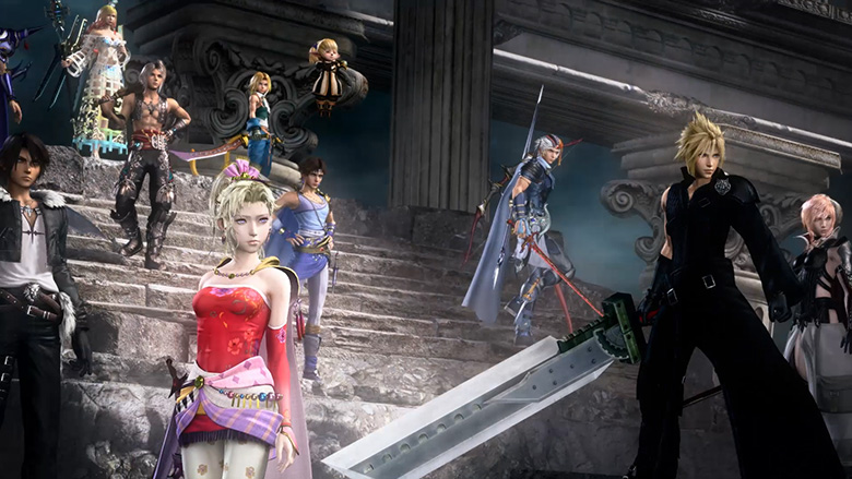 The Evolution Of DISSIDIA FINAL FANTASY NT Dissidia FFNT01