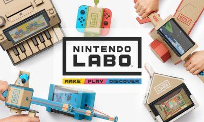Nintendo Labo Banner