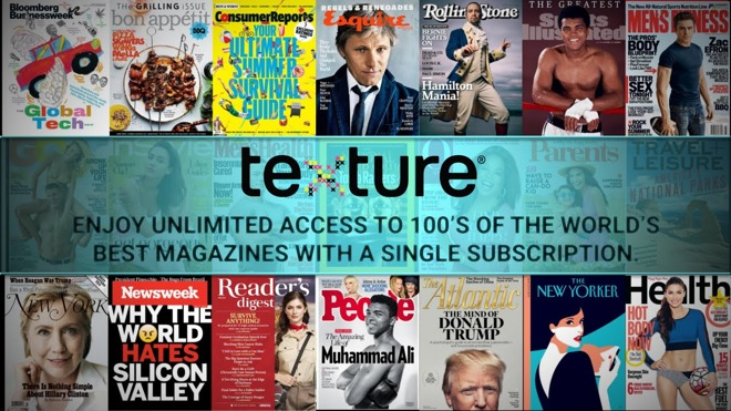 Apple buys Texture, the 'Netflix of magazines'