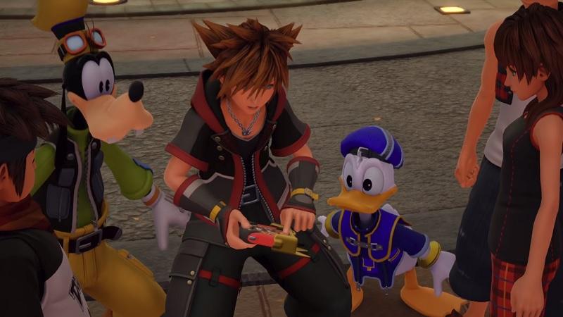 Kingdom Hearts 3 'Classic Kingdom' Trailer Shows Off Retro Mini