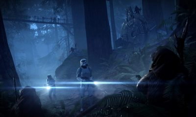 Star Wars Battlefront 2 Night on Endor