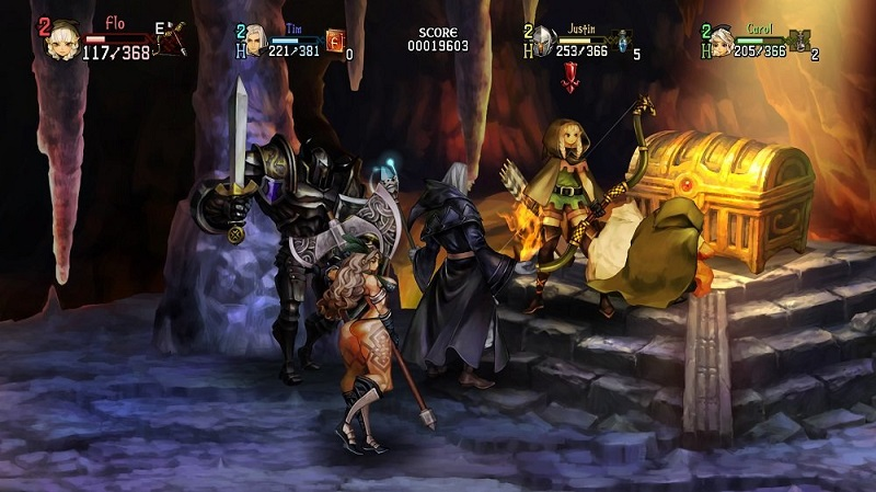 Dragon's Crown Pro cave