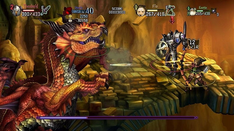 Dragon's Crown Pro dragon