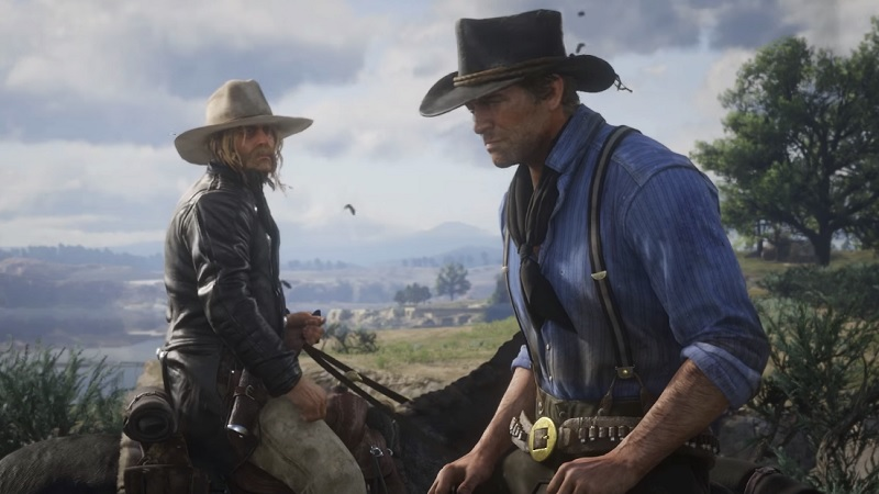 Love Yourself A Fire With the Third Red Dead Redemption II Trailer