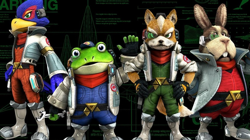 Star Fox Racing Game In the Works at Retro Studios According to New Rumors