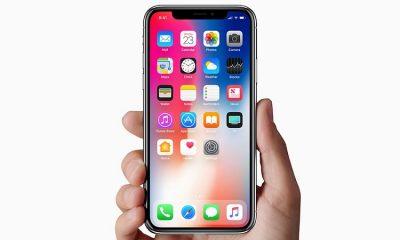 iPhone X purple green leak