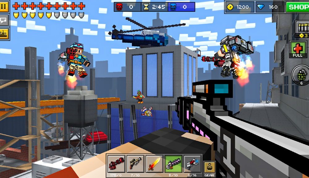 pixel gun 3d hack download free ios