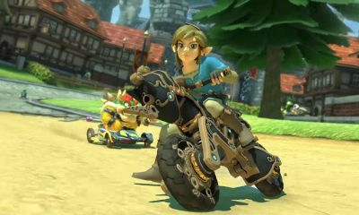 Champion's Tunic Link Mario Kart 8 Deluxe