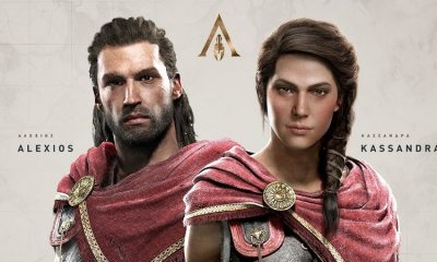 Assassin's Creed Odyssey protagonists