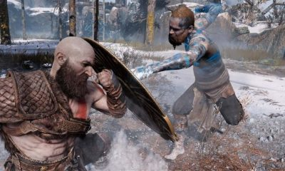 God Of War Baldur Boss Fight