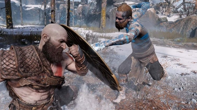 God Of War Baldur Boss Fight