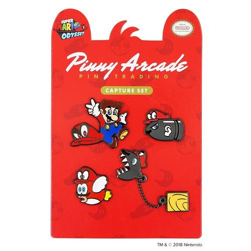 Super Mario Odyssey Capture Set Pinny Arcade