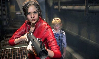 Resident Evil 2 Remake Claire Redfield Sherry Birkin