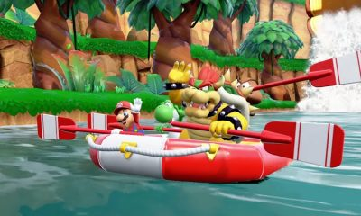 Super Mario Party River Survival