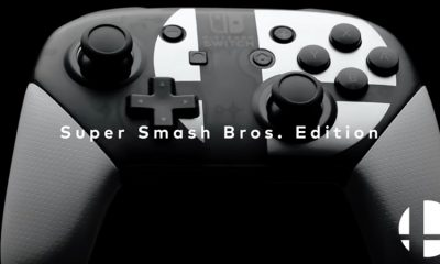 Super Smash Bros. Ultimate Pro Controller bundle