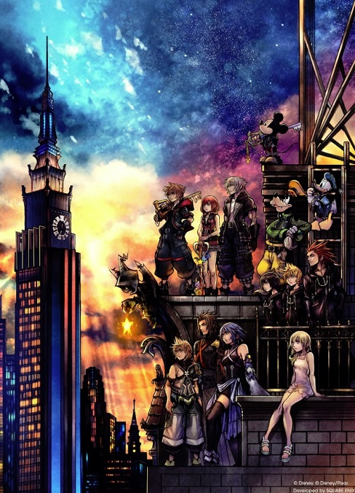 Kingdom Hearts 3 official box art